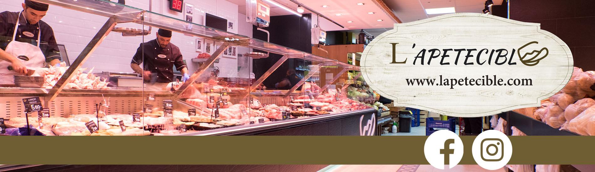 LApetecible tu carnicería, pollería, pescadería, charcutería y tienda de productos gourmet, online.