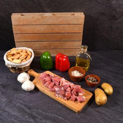 Compra online  Magro/Ragú de Cerdo Especial Guisar/Paella (500 grs. aprox)