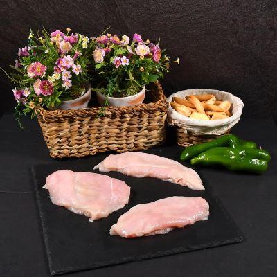 Compra online Bandeja de filetes de pechuga de pollo 500gr