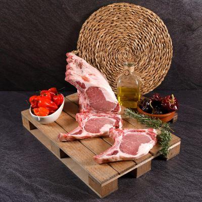 Compra online Chuletas de Cerdo Ibérico (500 grs. aprox)