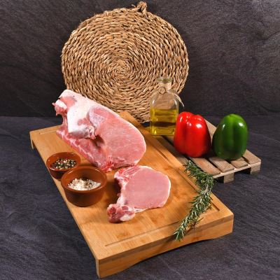 Compra online Chuletas de lomo de cerdo 1000 grs aprox.
