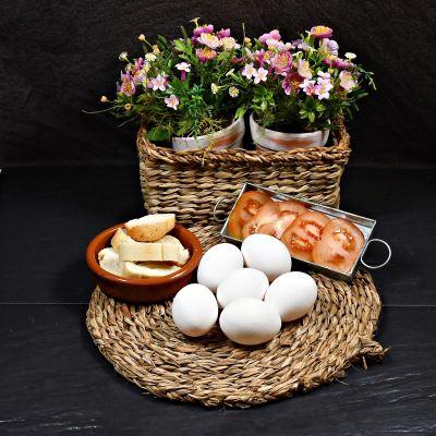 Compra online Docena de huevos blancos
