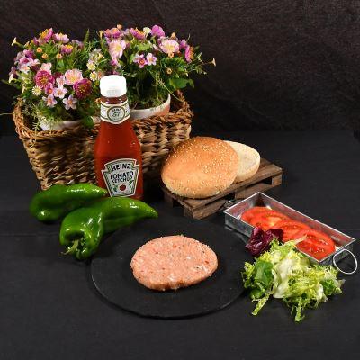 Compra online Hamburguesa de pollo y hortalizas