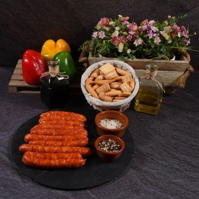 Compra online Longaniza roja Premium ibérica L'Apetecible (500 grs. aprox)