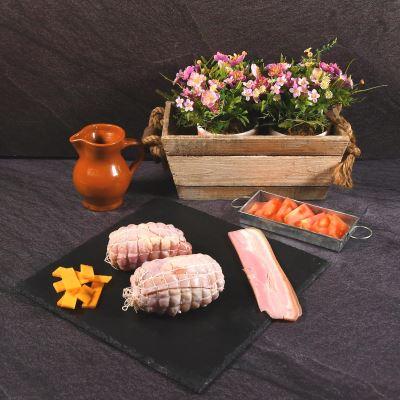 Compra online Muslitos de pollo rellenos de bacon y queso